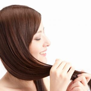 きれいな髪の毛をキープしたいですね