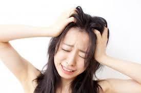ストレスが溜まり過ぎると薄毛になります