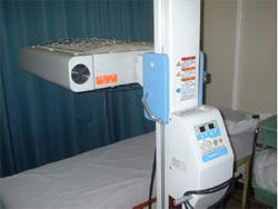 これが噂の紫外線治療機