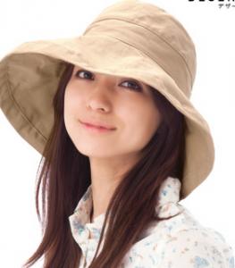 紫外線には帽子や日傘が有効です